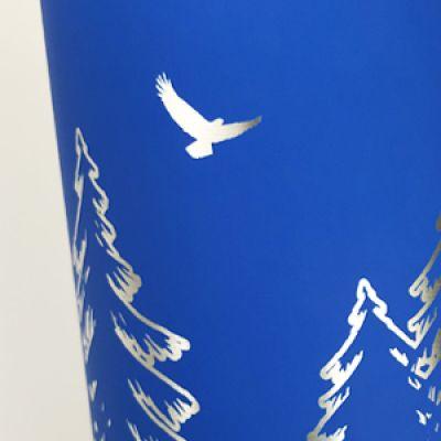 Нанесение логотипа методом лазерной гравировки