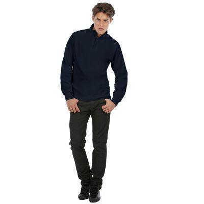 Толстовка ID.004, темно-синяя/navy, размер XL, темно-синий