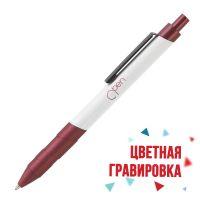 Ручка шариковая Orlando, бордовый