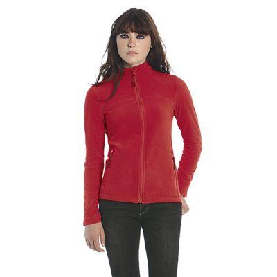 Куртка флисовая женская Coolstar/women, темно-красный