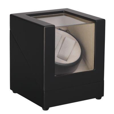 Шкатулка для часов с подзаводом, черный