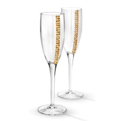 Набор для шампанского Regina, 2 фужера, прозрачный