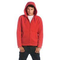 Толстовка мужская на молнии Hooded Full Zip/men, красный