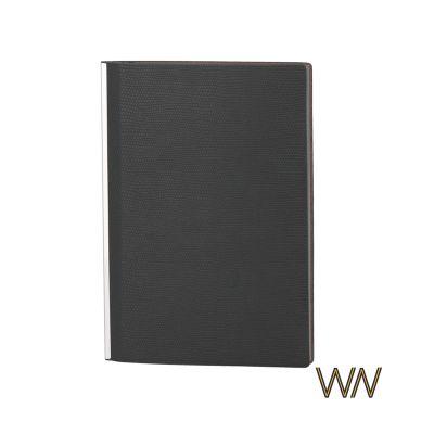 Блокнот Венеция, А5, гибкая обложка, черный