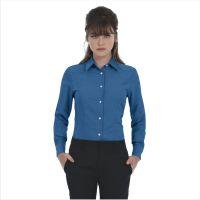 Рубашка женская с длинным рукавом Oxford LSL/women, синий