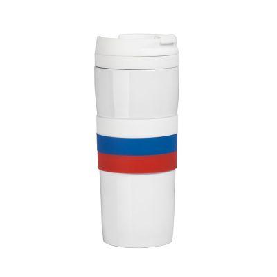 Термостакан  Россия, 0,38 л., белый