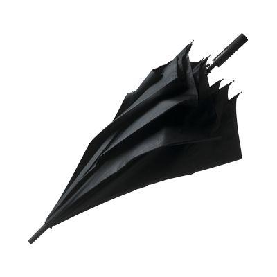 Зонт-трость Grid City, черный