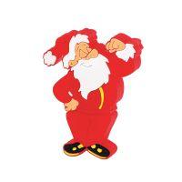Флеш-карта Дед Мороз USB 8GB, красный с белым
