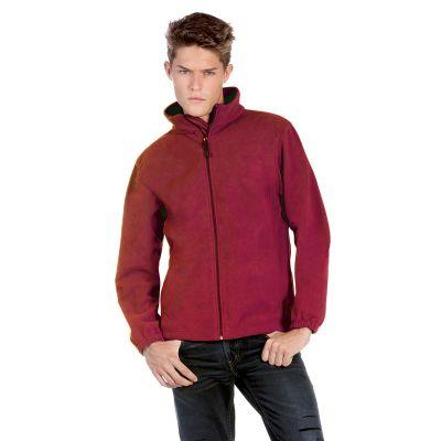Куртка флисовая WindProtek, красный