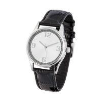 Часы наручные, белый с серебром
