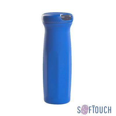 Термостакан Аризона, покрытие soft touch, 0,63 л., синий