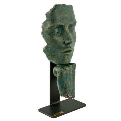 Скульптура Пауза, зеленый