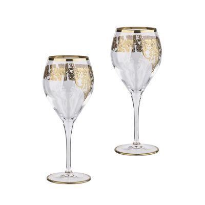 Набор для вина Прованс, 2 бокала, золотистый
