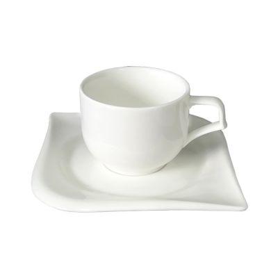 Чайная пара Вальс, белый