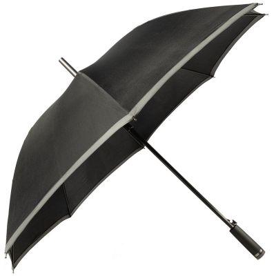 Зонт-трость Gear, черный