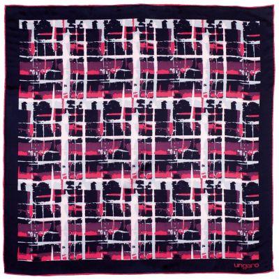 Платок Tweed Silk, темно-синий