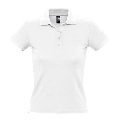 Рубашка поло женская PEOPLE 210, белая