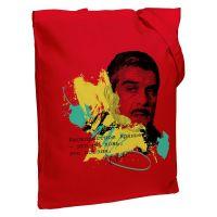 Холщовая сумка «Цитаты. Довлатов. Вранье», красная
