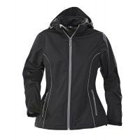 Куртка софтшелл женская HANG GLIDING, черная