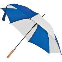 Зонт-трость Milkshake, белый с синим