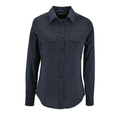 Рубашка женская BURMA WOMEN, темно-синяя