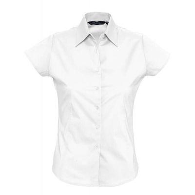 Рубашка женская с коротким рукавом EXCESS, белая