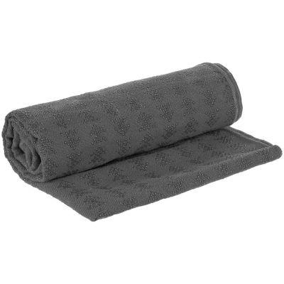 Полотенце-коврик для йоги Zen, серое