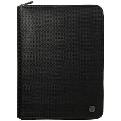 Папка-органайзер Epitome с блокнотом А5 и аккумулятором 8000 мА4, черная