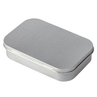 Коробка прямоугольная, малая, серебристая