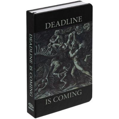 Ежедневник Deadline, недатированный, черный