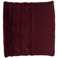 Подушка Stille, бордовая