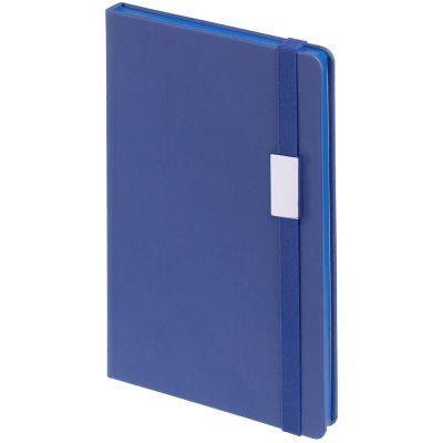 Блокнот Shall Direct, синий