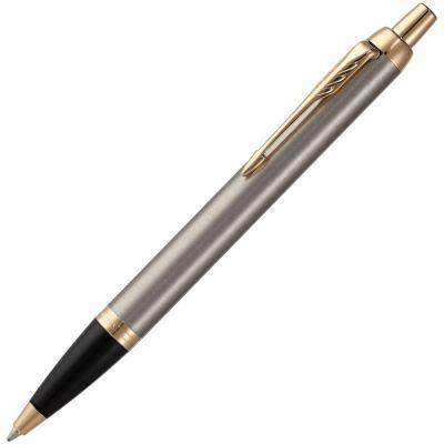 Ручка шариковая Parker IM Core K321 Brushed Metal GT M