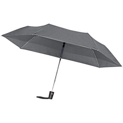 Зонт складной Hit Mini AC, серый