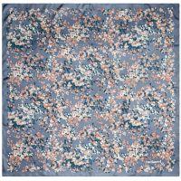 Платок Etincelle Silk, серо-голубой