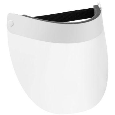 Прозрачный экран для лица Barrier, немедицинский, с белой лентой
