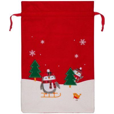 Мешок для подарков Noel, с пингвинами