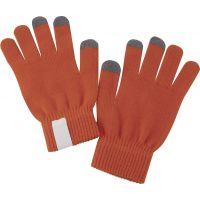Сенсорные перчатки Scroll, оранжевые