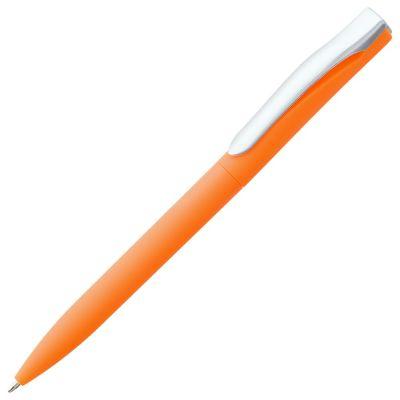 Ручка шариковая Pin Soft Touch, оранжевая
