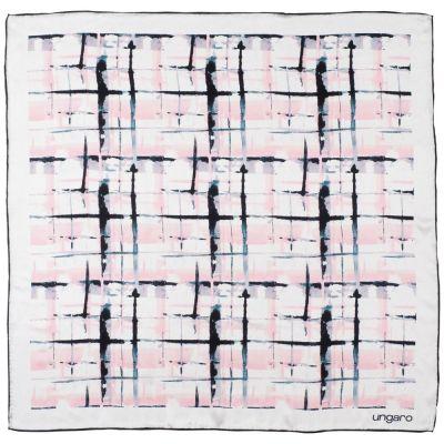 Платок Tweed Silk, белый
