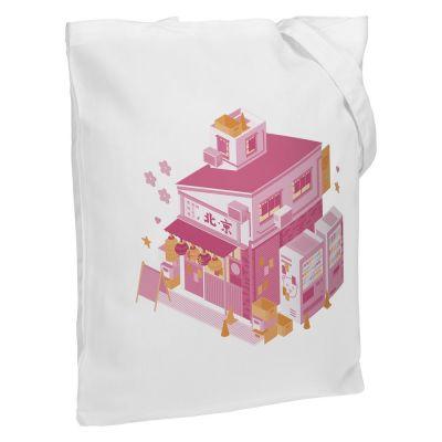 Холщовая сумка «Осака. Рамен», молочно-белая