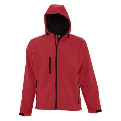 Куртка мужская с капюшоном Replay Men 340, красная
