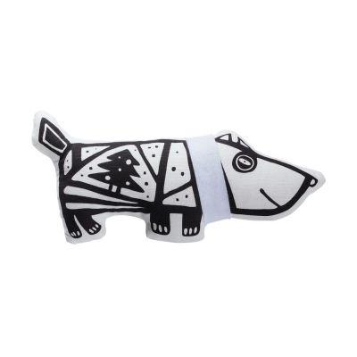 Игрушка «Собака в шарфе», малая, белая