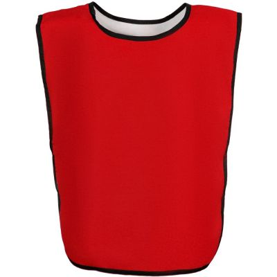 Манишка Outfit, двусторонняя, белая с красным