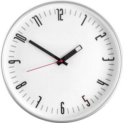Часы настенные ChronoTop, с красной секундной стрелкой