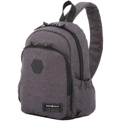Рюкзак на одно плечо Swissgear Grey Heather, серый