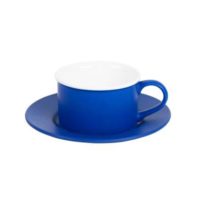 Чайная пара ICE CREAM, синий, белый