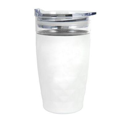 Термокружка вакуумная Cristal, белый