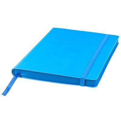 Ежедневник недатированный Shady, А5,  лазурный, кремовый блок, синий обрез
