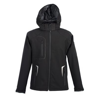 Куртка софтшелл ARTIC 320, черный